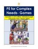 PE for Special Education: Games