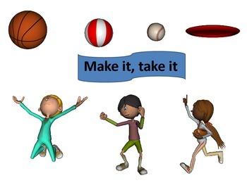 PE game make it take it