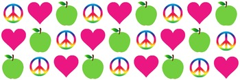 ~DOWNLOADABLE~ PEACE, LOVE and TEACHING!!!! border