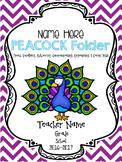 PEACOCK Communication Folder