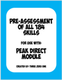 Full Pre-Assessment for use with: PEAK Direct Module Relational Frame Theory