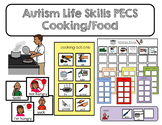 PECS Autism Life Skills- Food and Cooking Communication Cards and Boards