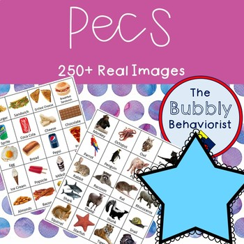 PECS Bundle- 250+ Real Pictures