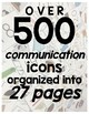 Communication Book Starter Kit- For Autism & Special Needs Students