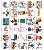 PECS Communication Symbols Boardmaker 130 lot symbols