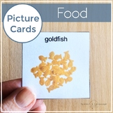 Picture Card Printables | Photo Cards Visuals | Autism | AAC | EI | Food