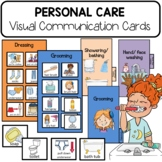 PECS Personal Care Communication Cards. Visual Schedules.