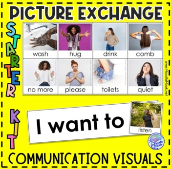 PECS Starter Kit for Students with Autism- Printable and Ready to Go