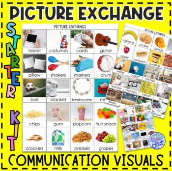 PECS Starter Kit for Students with Autism- Printable and ... | 350 x 350 jpeg 84kB