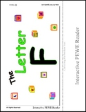 PECS Style Interactive PEWE Reader for the Letter F - Get