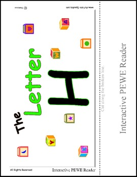 PECS Style Interactive PEWE Reader for the Letter H - Get