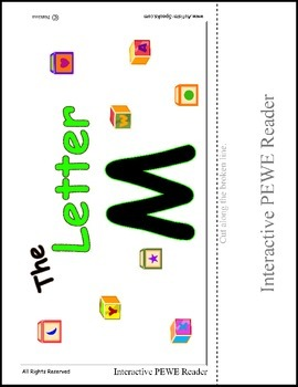PECS Style Interactive PEWE Reader for the Letter M - Get all of the Books