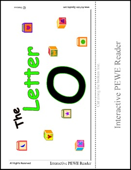 PECS Style Interactive PEWE Reader for the Letter O - Get