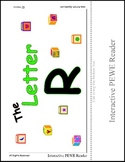 PECS Style Interactive PEWE Reader for the Letter R -  Reading support