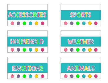 PECS Toolbox Storage Labels {Get Organized}