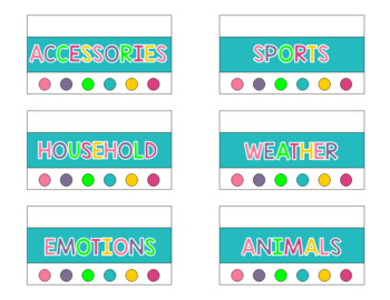 Picture Symbols Toolbox Storage Labels {Get Organized}