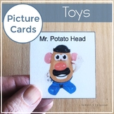 Toys Picture Cards | Photo Cards Visuals for Autism AAC and Early Intervention