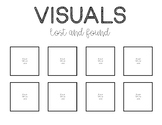 PECS Visuals Lost and Found- FREEBIE