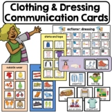 Clothes and Dressing Communication Cards. Life Skills. Autism. Picture exchange