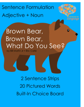 Pictures for PECS: Brown Bear