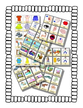 PECS style Bundle ~ 9 Boards & 1900 cards - Autism Speech Therapy Schedule