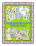 PECS style Bundle ~ 9 Boards & 1900 cards - Autism Speech