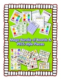 PECS style Bundle ~ 9 Boards & 1900 cards - Autism Speech