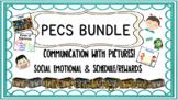 PECs BUNDLE Social emotional-Rewards-Schedule**Editable PPT File**