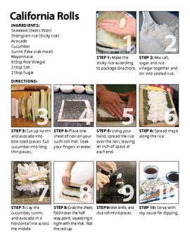 PEC's Sushi Recipe