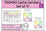 PEDMAS (Fortune Teller/Cootie Catcher)