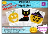 PEDMAS Halloween Special (Math Art)