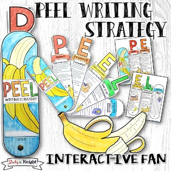 PEEL PARAGRAPH AND  ESSAY WRITING STRATEGY INTERACTIVE FAN