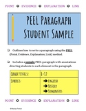 PEEL Paragraph Outline