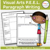 VISUAL ARTS : Improving Student Writing with PEEL Paragraph Writing Templates