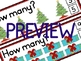CHRISTMAS MATH: CHRISTMAS COUNTING CLIP CARDS: NUMBERS 1 TO 20