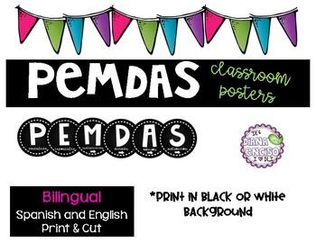PEMDAS - Bilingual
