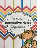 PEMDAS Interactive Notes