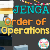Order of Operations Game PEMDAS Jenga