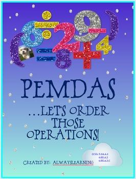 PEMDAS: Let's Order Those Operations!