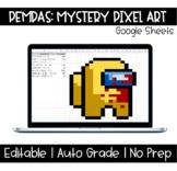 PEMDAS | Mystery Pixel Art - Among Us