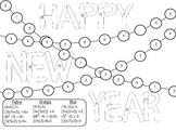 PEMDAS New Years Color By Numbers