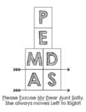 PEMDAS Order of Operations Interactive Notebook