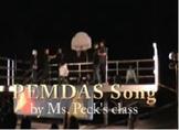 PEMDAS (Order of Operations song)
