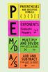 PEMDAS Order of Operations Poster, Bulletin Board & Anchor Chart