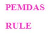 PEMDAS Rule slides