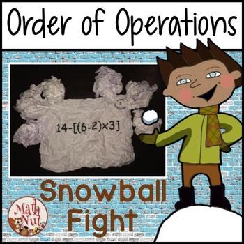 """Order of Operation Game """"PEMDAS Game"""""""