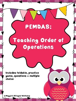 PEMDAS: Teaching Order of Operations