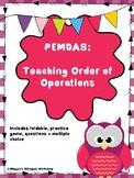 PEMDAS: Teaching Order of Operations
