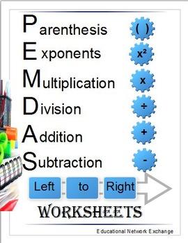 PEMDAS: Worksheets