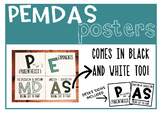 PEMDAS signs (Order of Operations)